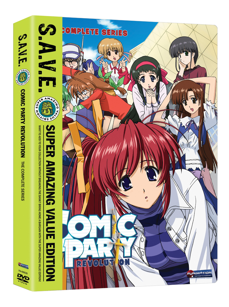 Comic Party Revolution Complete Series DVD SAVE Edition