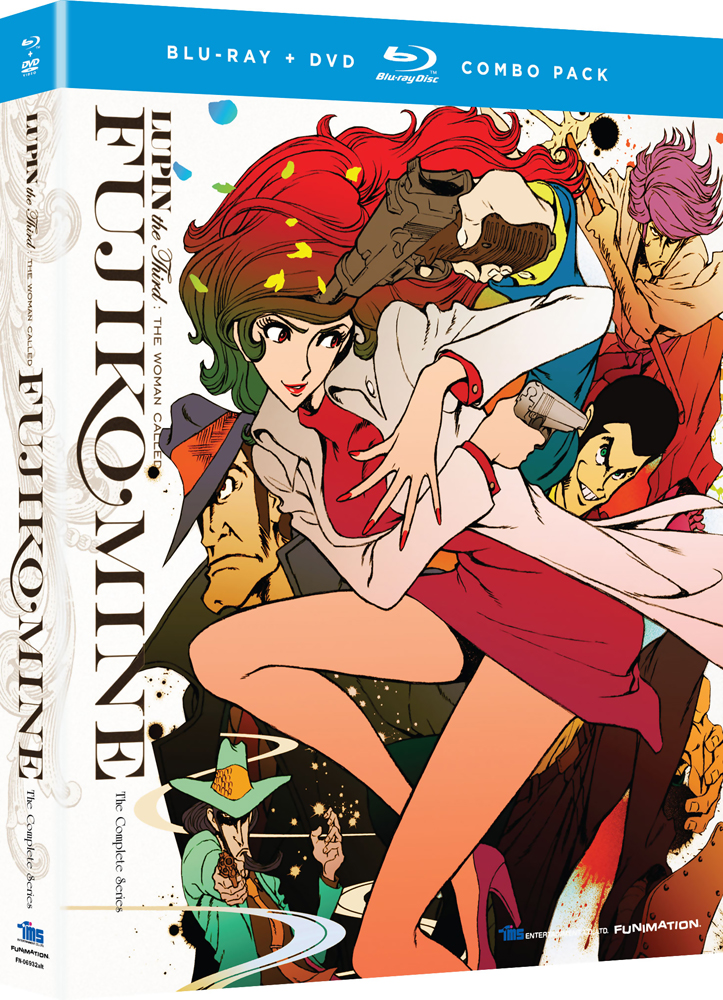 Lupin the 3rd Woman Called Fujiko Mine Blu-ray/DVD 704400069338