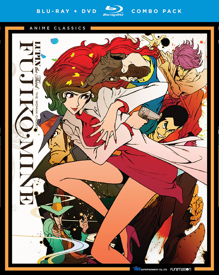 Lupin III The Woman Named Fujiko Mine Blu-ray/DVD Anime Classics