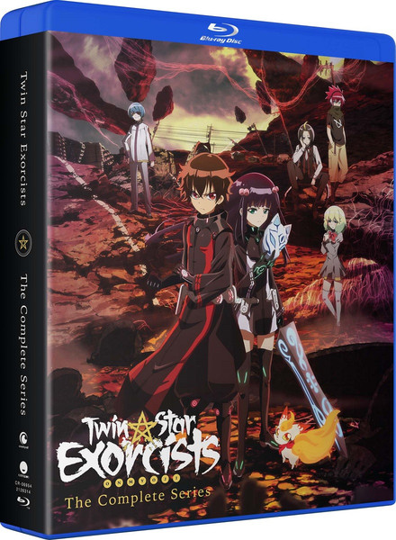 Twin Star Exorcists Complete Series Blu-ray