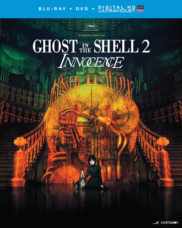 Ghost in the Shell 2 Innocence Blu-ray/DVD + UV 704400070839