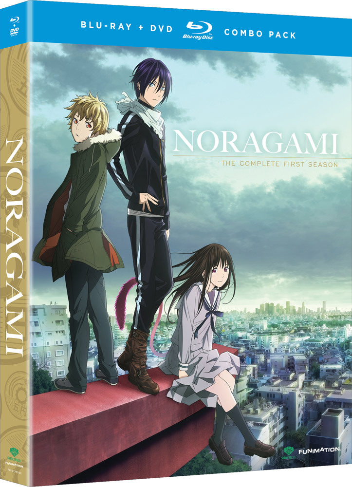 Noragami Season 1 Blu-ray/DVD 704400072512