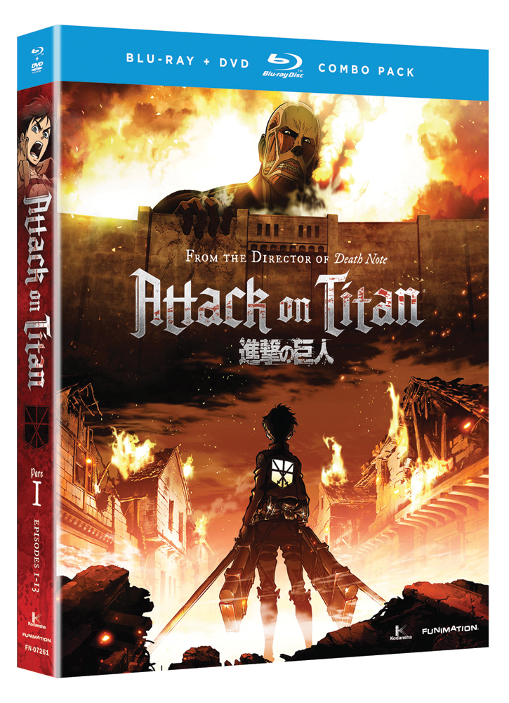Attack on Titan Part 1 Blu-ray/DVD 704400072611