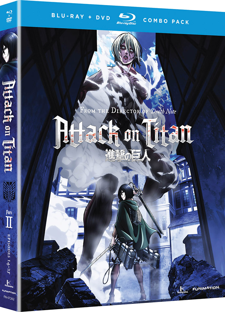 Attack on Titan Part 2 Blu-ray/DVD 704400072628