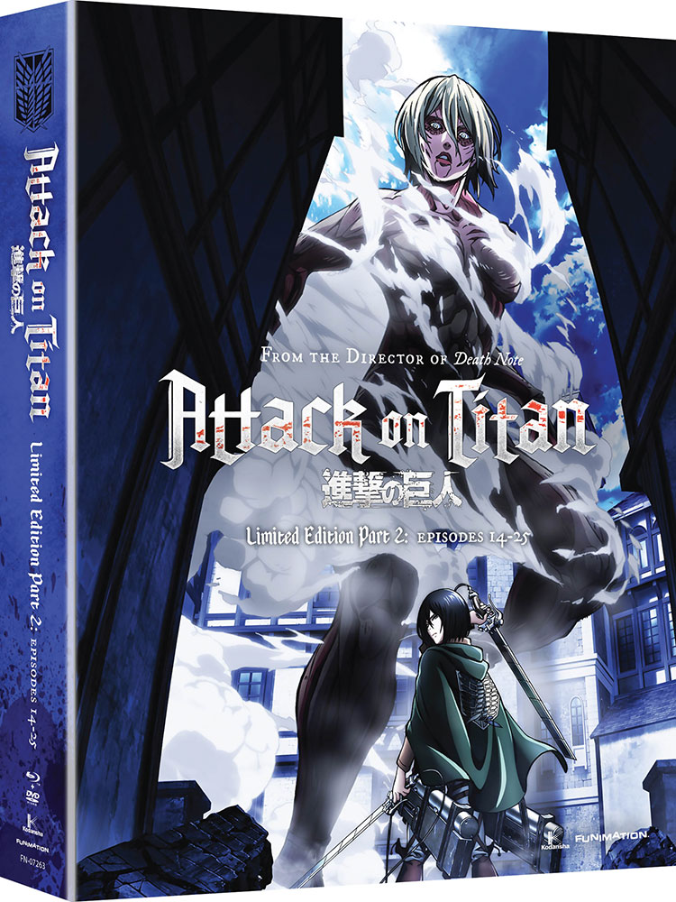 Attack on Titan Part 2 Limited Edition Blu-ray/DVD 704400072635