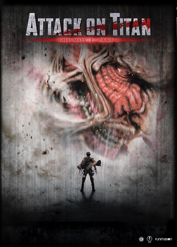 Attack on Titan The Movie Part 1 DVD