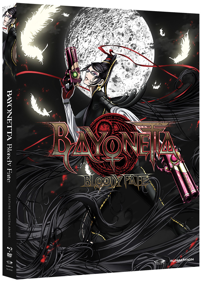 Bayonetta Bloody Fate Blu-ray/DVD 704400072819
