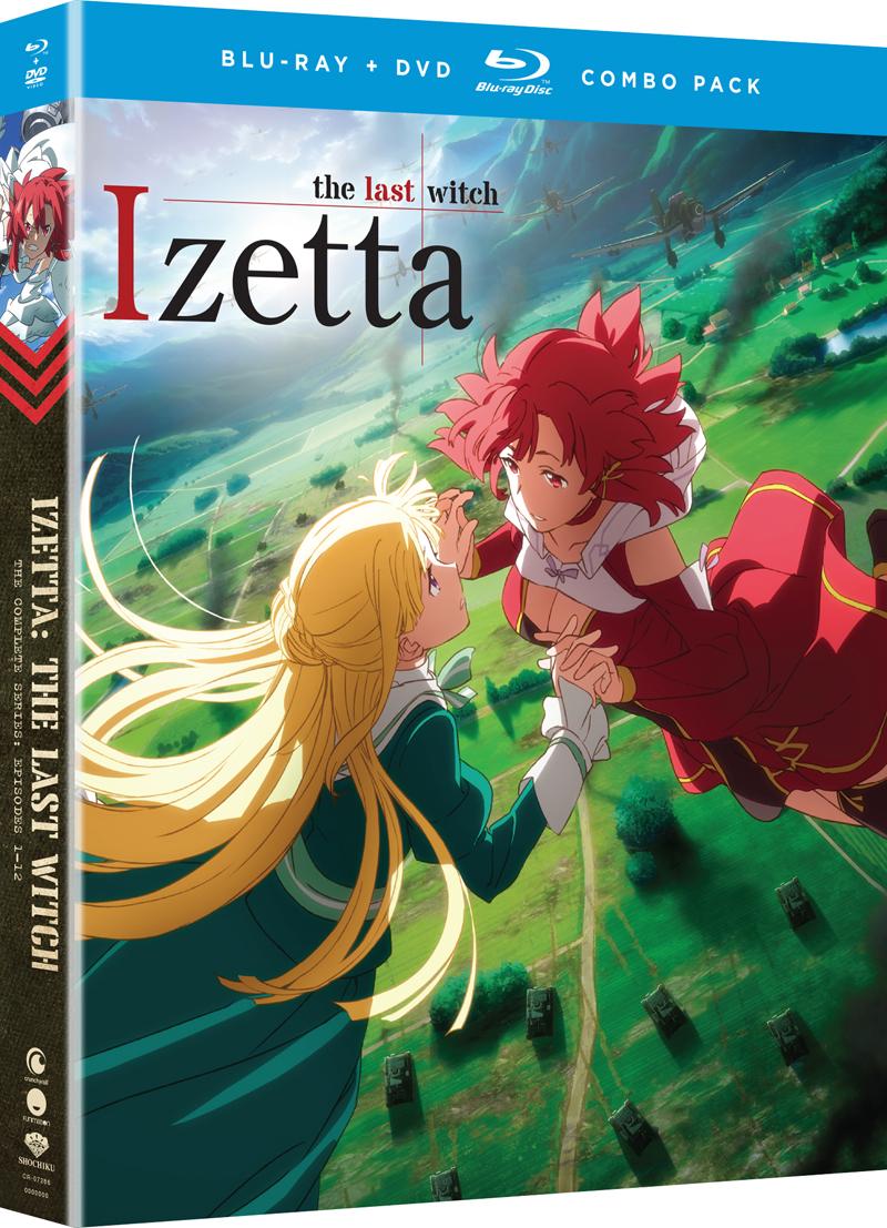 Izetta The Last Witch Blu-Ray/DVD 704400072864