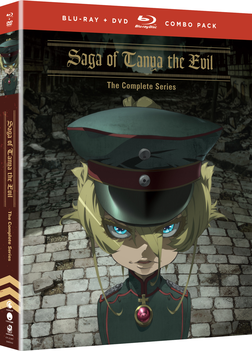 Saga of Tanya the Evil Blu-ray/DVD