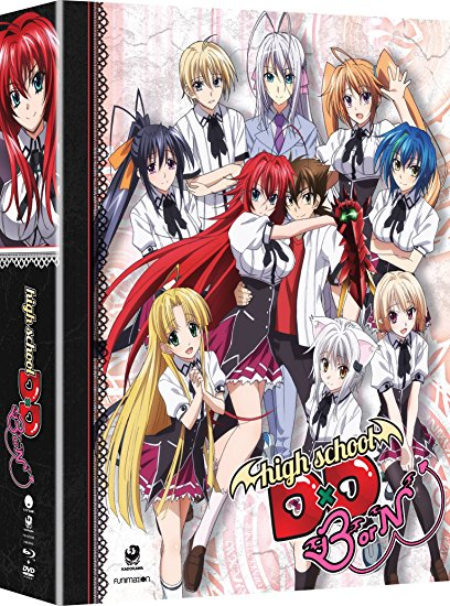 High School DxD Season 3 Limited Edition Blu-ray/DVD 704400072932
