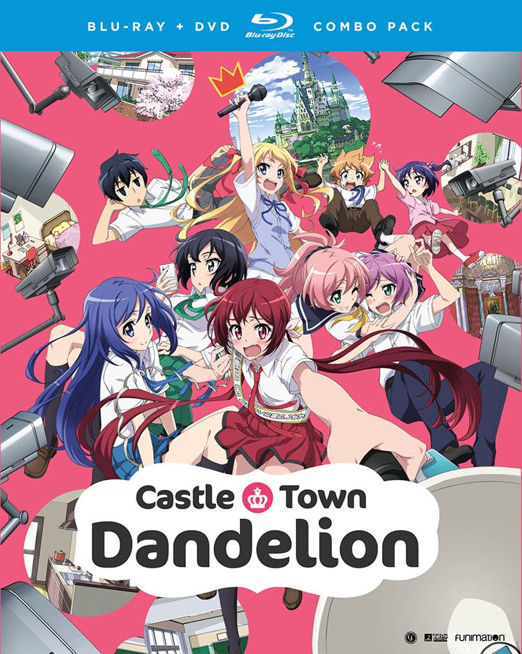Castle Town Dandelion Blu-ray/DVD 704400073205