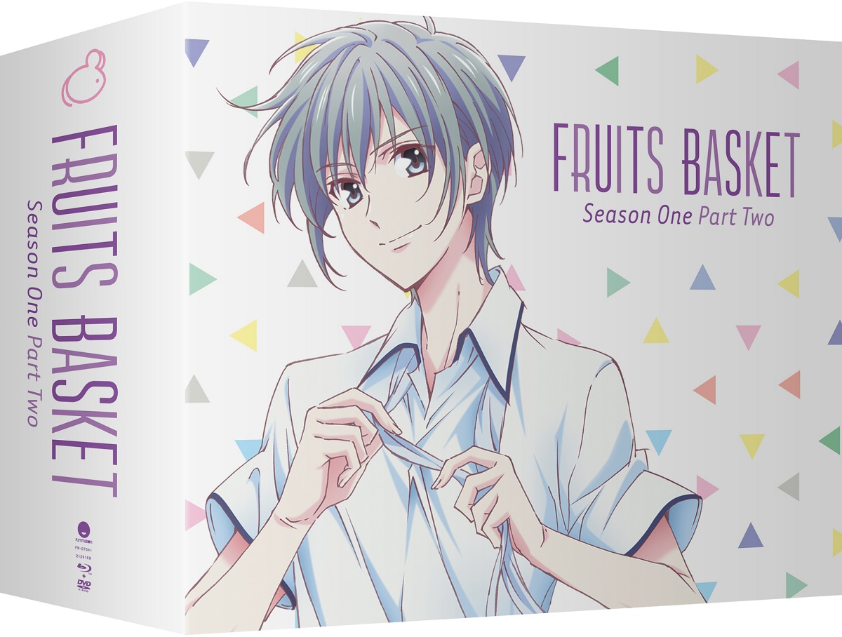 Fruits Basket Season 1 Part 2 Limited Edition Blu-ray/DVD