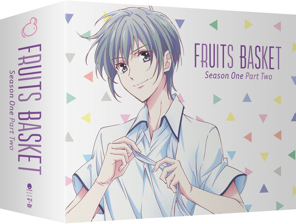 Fruits Basket Season 1 Part 2 Limited Edition Blu-ray/DVD