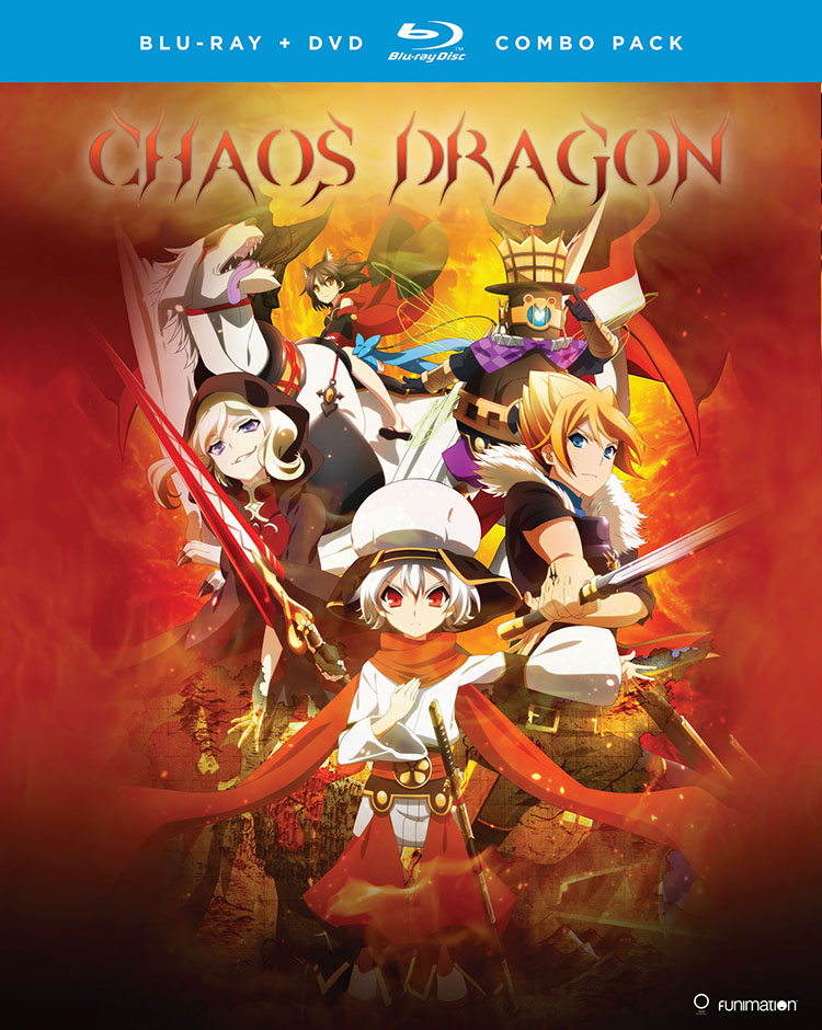 Chaos Dragon Blu-ray/DVD 704400073458