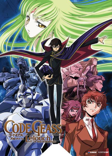 Code Geass Lelouch of the Rebellion DVD