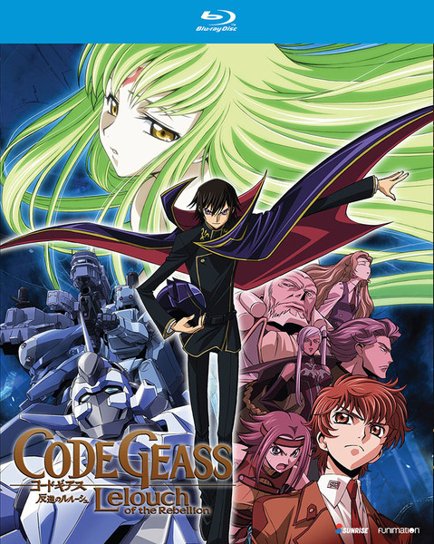 Code Geass Lelouch of the Rebellion Blu-ray
