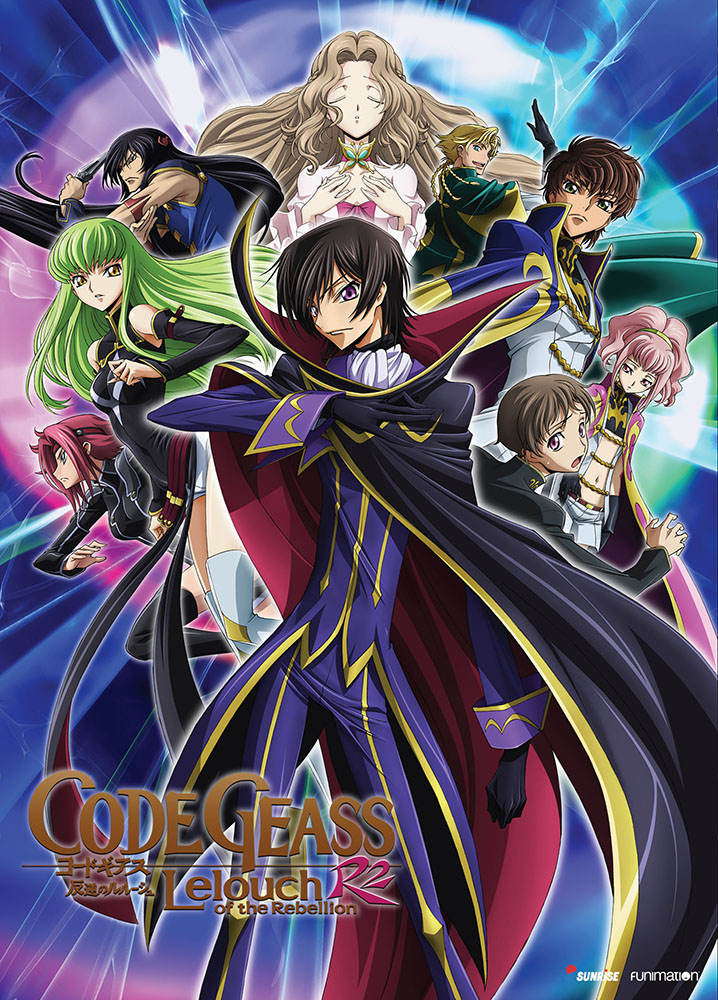 Code Geass Lelouch of the Rebellion R2 DVD 704400073533