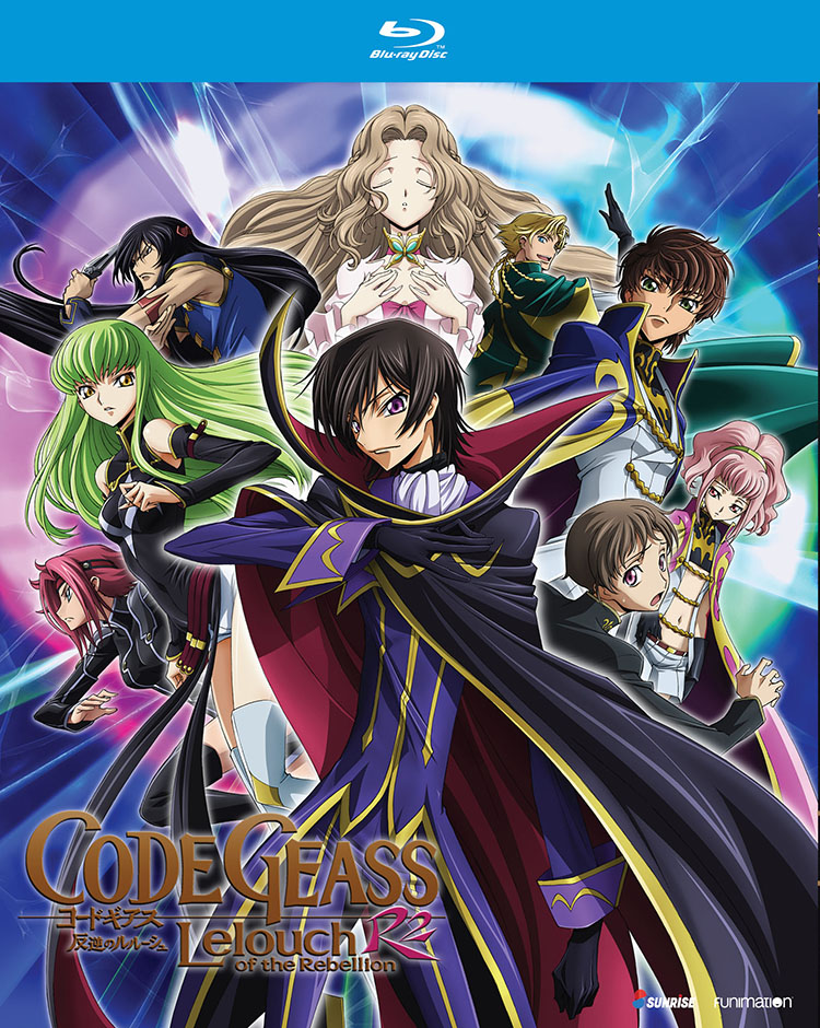 Code Geass Lelouch of the Rebellion R2 Blu-ray 704400073540