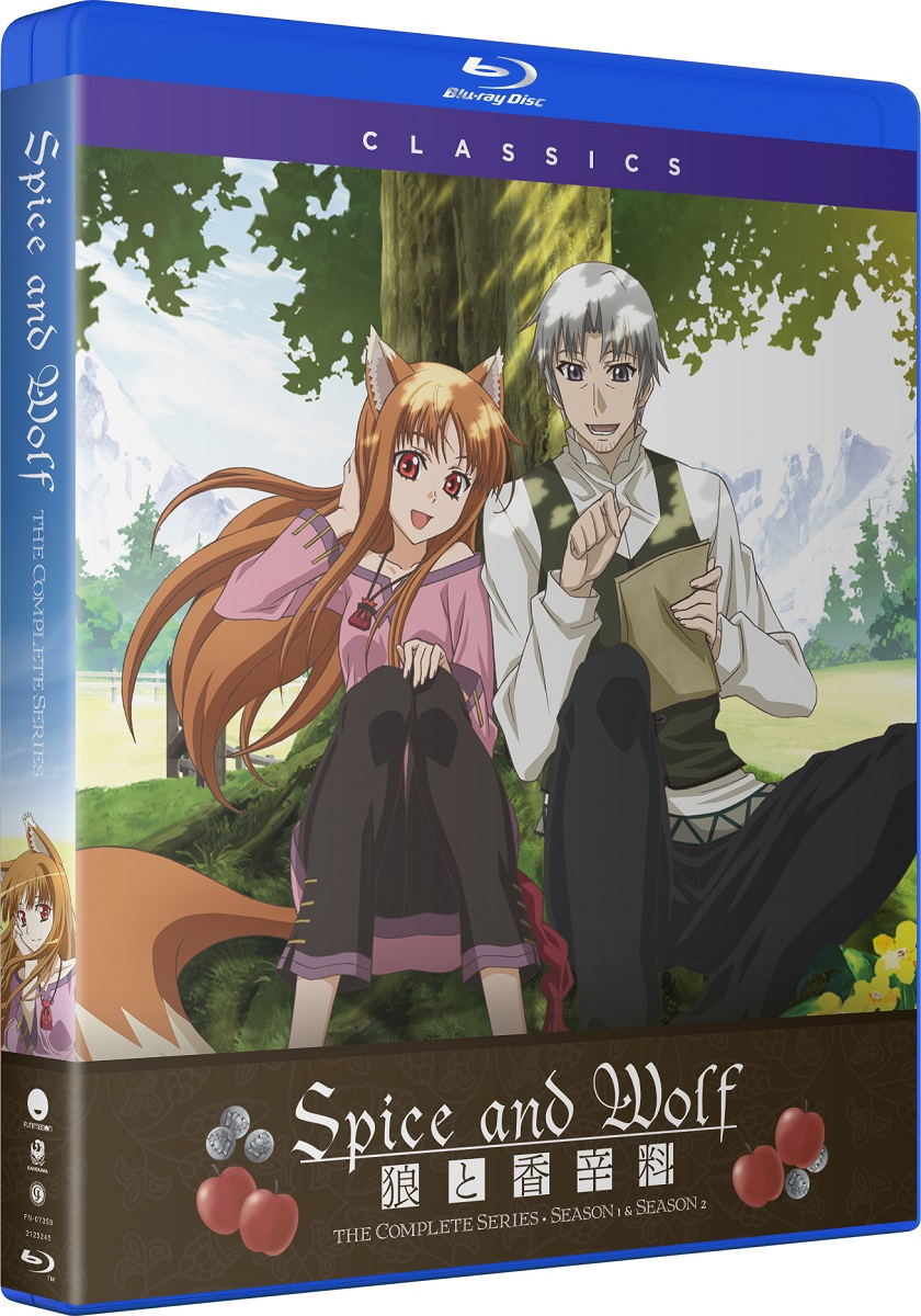 Spice and Wolf Complete Series Classics Blu-ray
