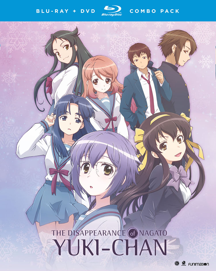 The Disappearance of Nagato Yuki-chan Blu-ray/DVD 704400073809