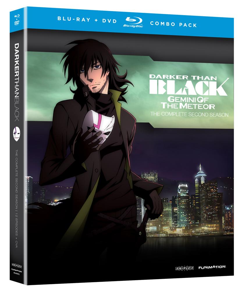 Darker Than Black Season 2 + OVAs Blu-ray/DVD 704400074714