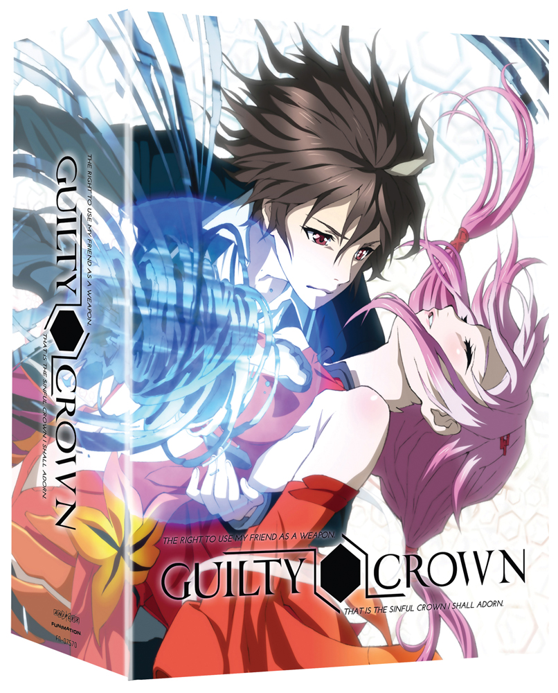 Guilty Crown Part 1 Limited Edition Blu-ray/DVD