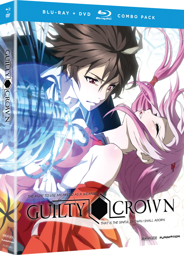 Guilty Crown Part 1 Blu-ray/DVD 704400075711