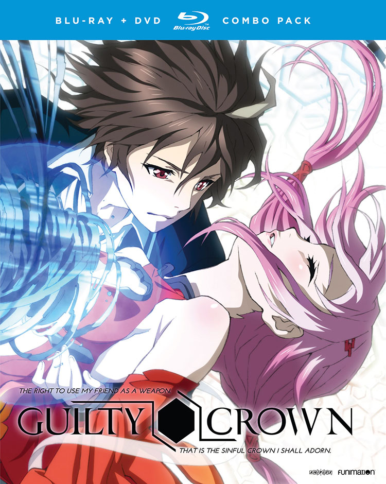 Guilty Crown Complete Series Blu-ray/DVD 704400075735