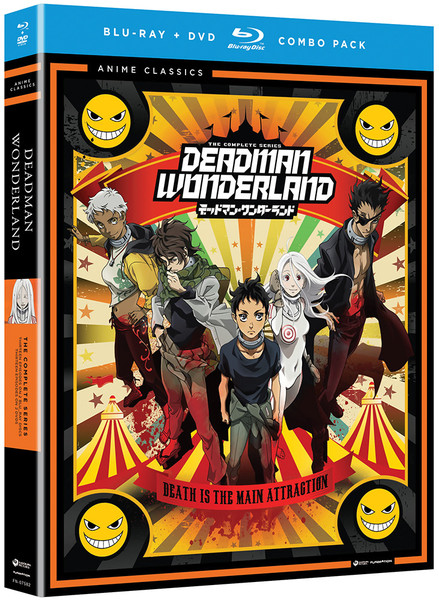 Deadman Wonderland Blu-ray/DVD Anime Classics