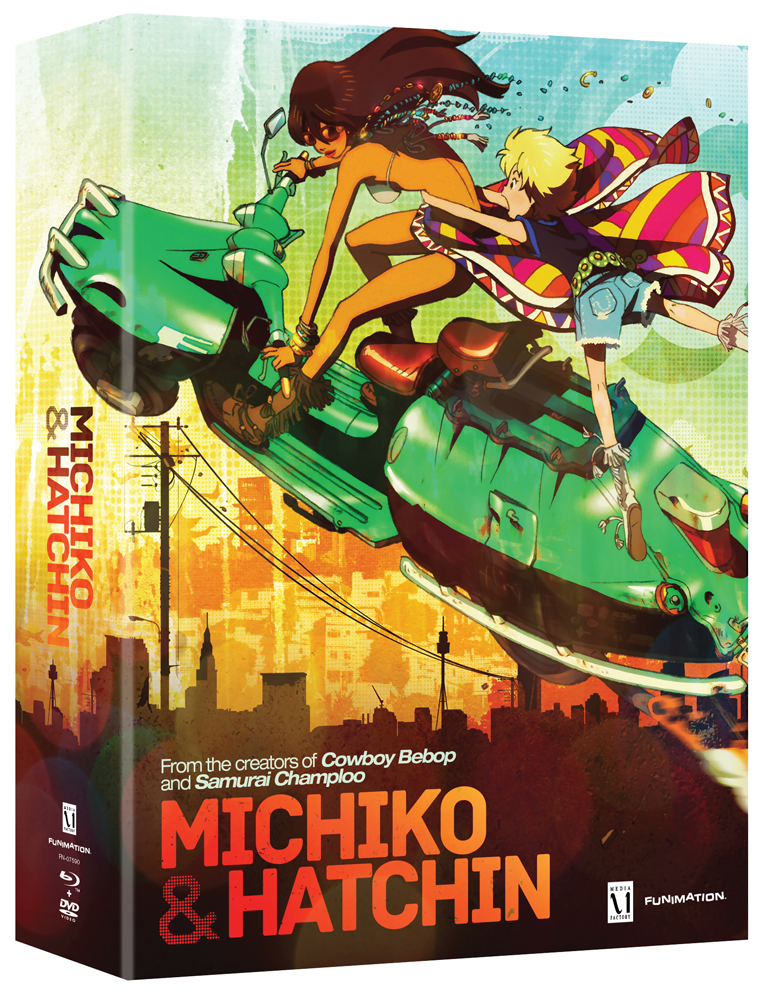 Michiko and Hatchin Part 1 Limited Edition Blu-ray/DVD 704400075902
