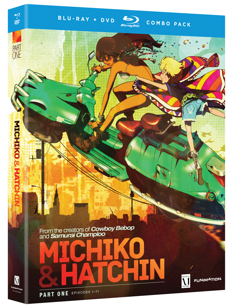 Michiko and Hatchin Part 1 Blu-ray/DVD 704400075919