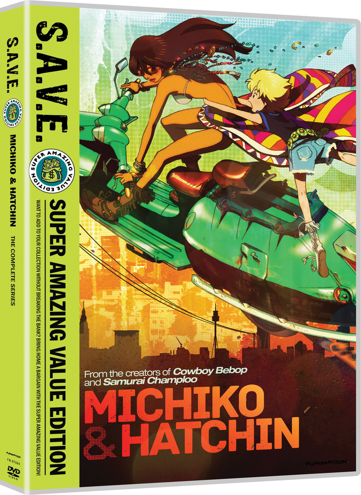 Michiko and Hatchin Complete Series DVD S.A.V.E. Edition 704400075940