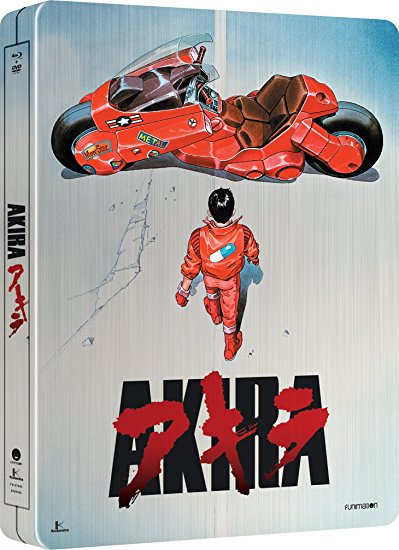 Akira Collector's Case Blu-ray/DVD 704400075957