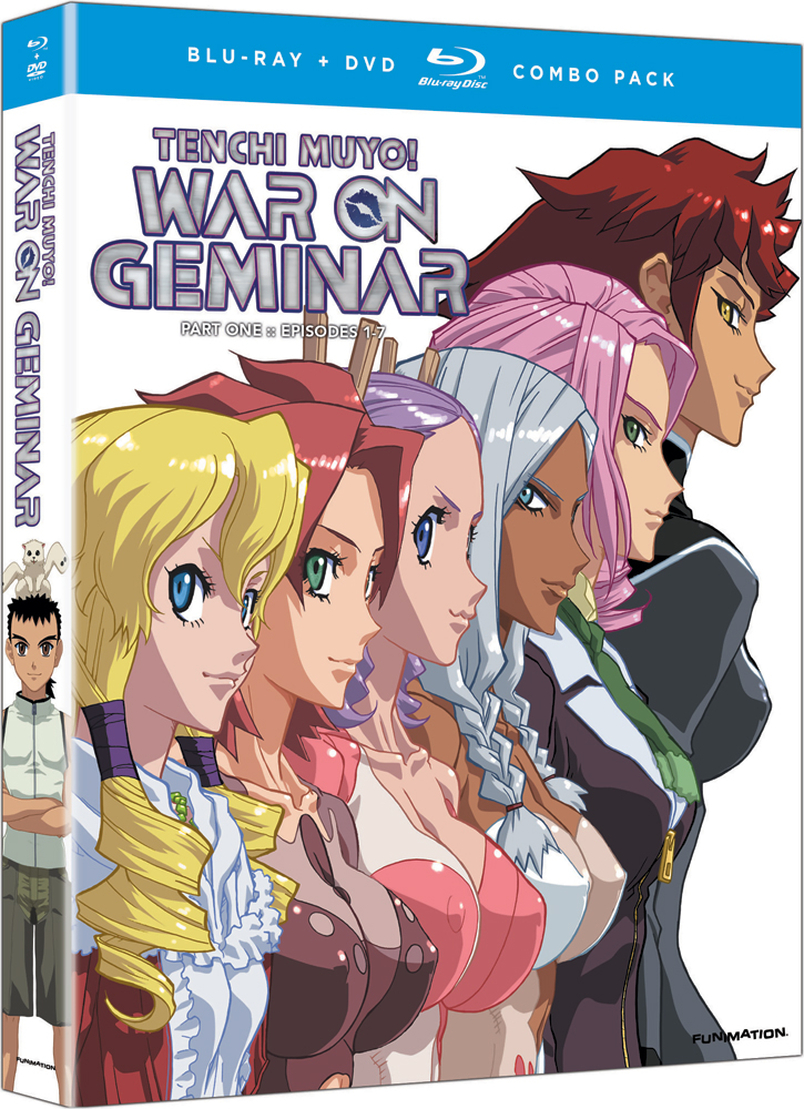 Tenchi Muyo War on Geminar Part 1 Blu-ray/DVD 704400076954