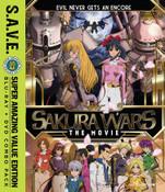 Sakura Wars The Movie Blu-ray/DVD SAVE Edition