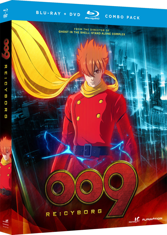 009 Re:Cyborg Movie Blu-ray/DVD 704400077104