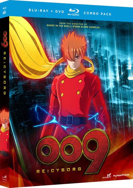 009 Re:Cyborg Movie Blu-ray/DVD