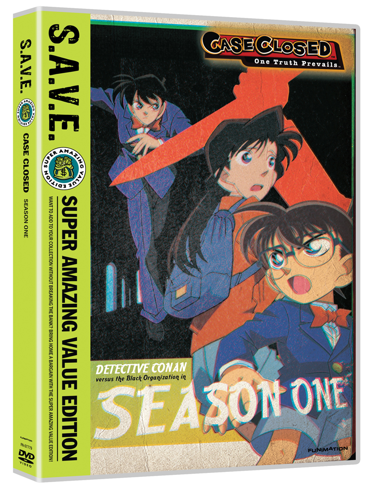 Case Closed Season 1 Box Set DVD SAVE Edition