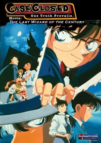 Case Closed Movie 3 The Last Wizard of the Century DVD 704400078040