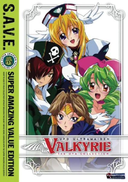 UFO Ultramaiden Valkyrie Seasons 3-4 DVD SAVE Edition