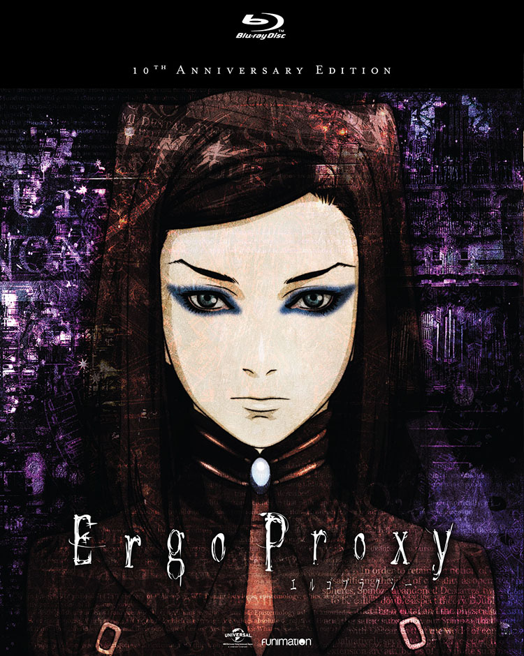 Ergo Proxy Complete Series Blu-ray 704400078750