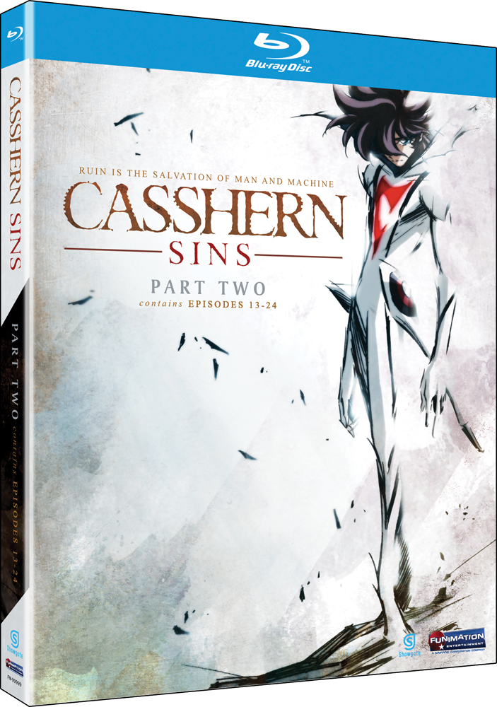 Casshern Sins Part 2 Blu-ray 704400079238