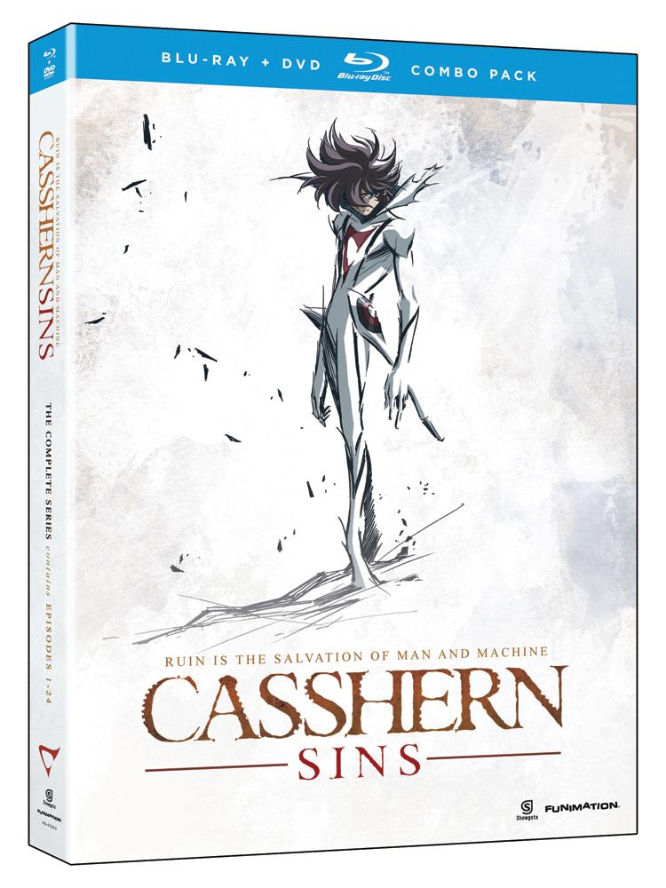 Casshern Sins Complete Series Blu-ray/DVD 704400079245