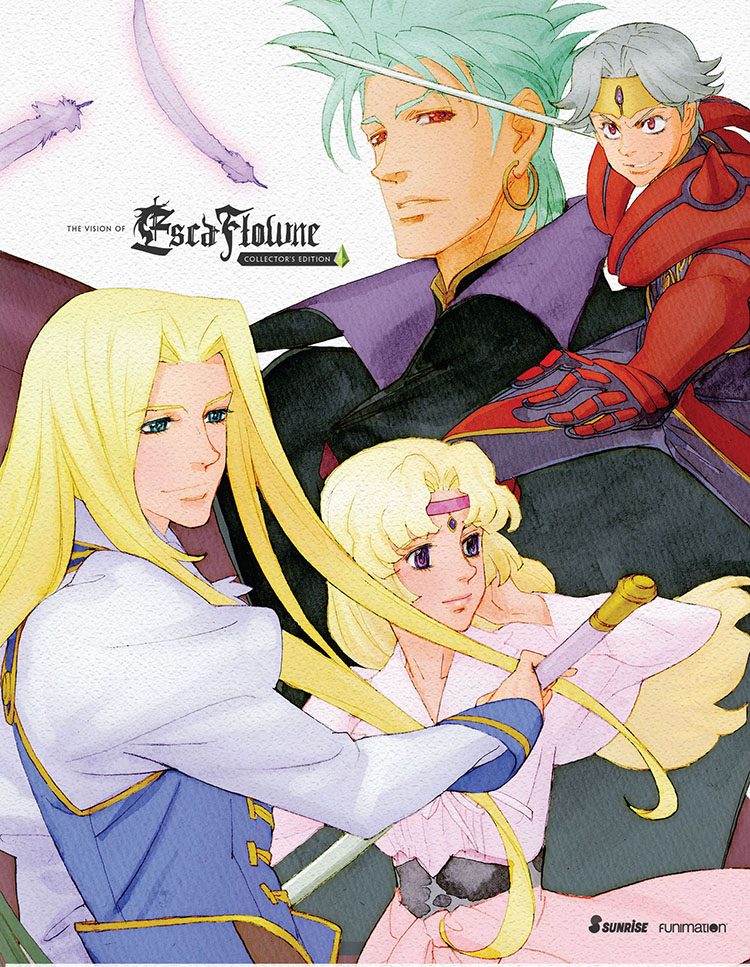 Escaflowne TV Complete Series/Movie Collector's Edition Blu-ray