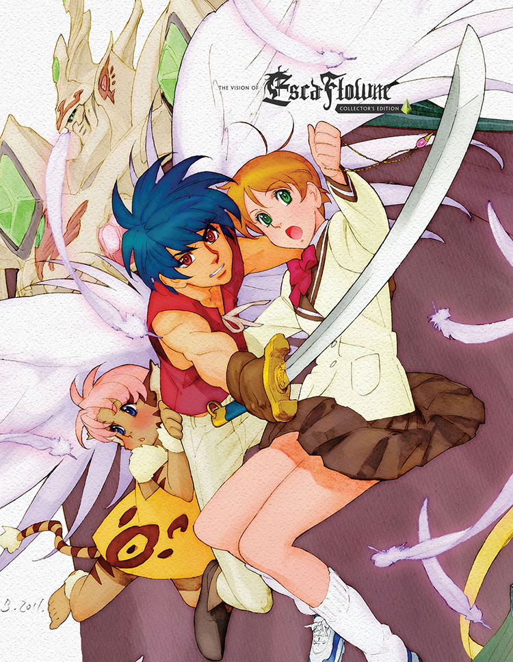 Escaflowne TV Complete Series/Movie Collector's Edition Blu-ray 704400079740