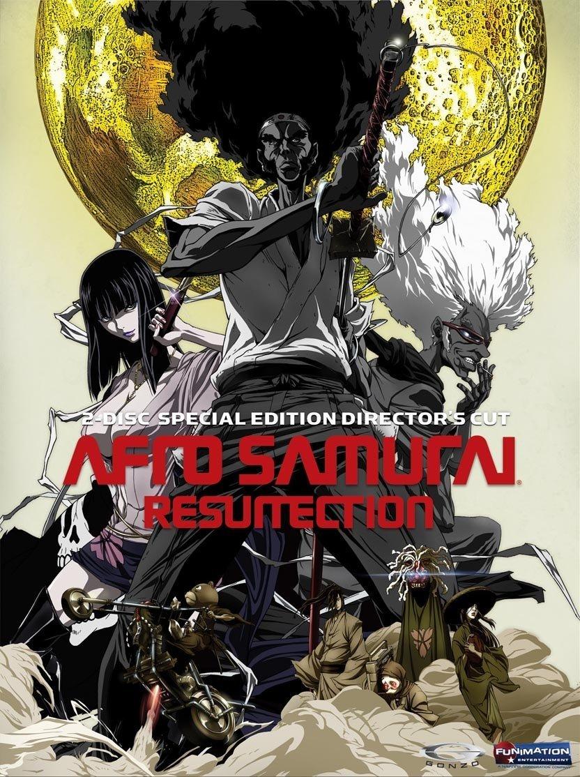 Afro Samurai Resurrection DVD Uncut 704400079900