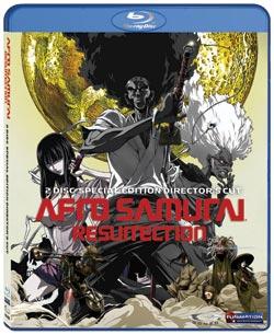 Afro Samurai Resurrection Blu-ray Uncut