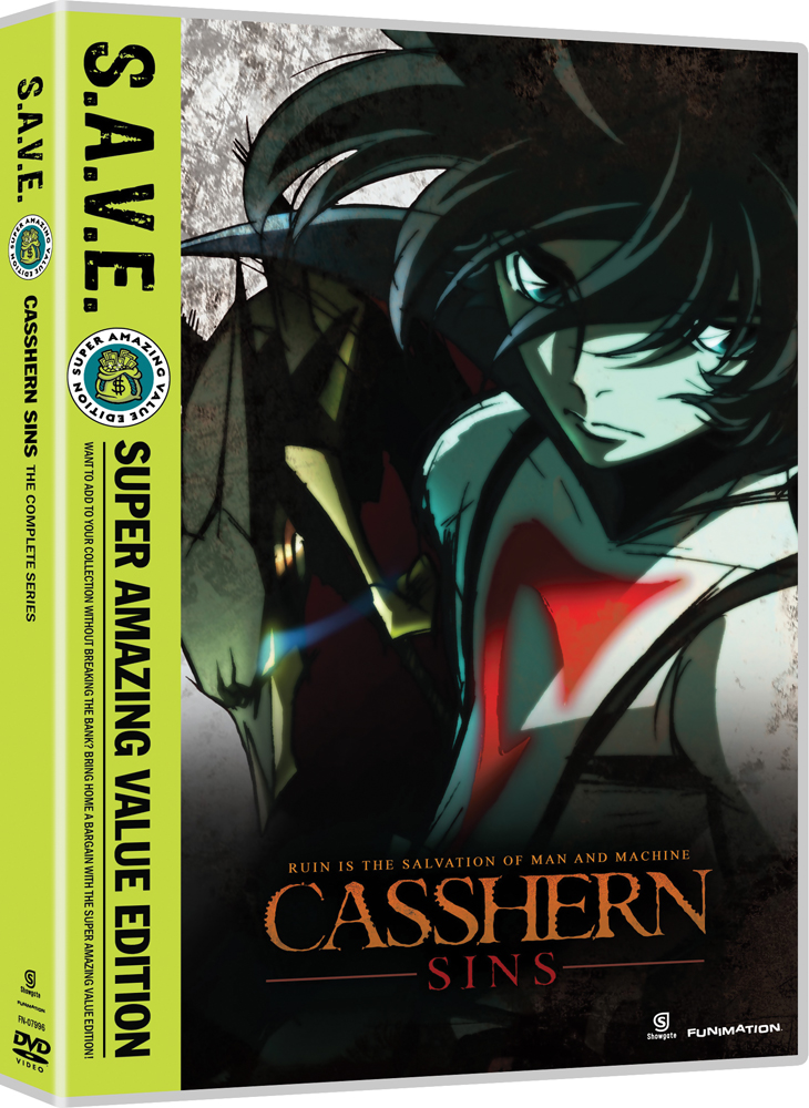 Casshern Sins Complete Series DVD SAVE Edition 704400079962