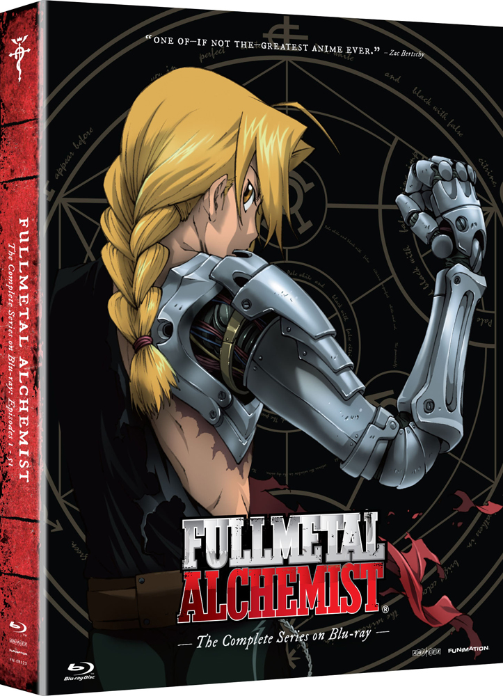 Fullmetal Alchemist Complete Series Limited Edition Blu-ray 704400081231
