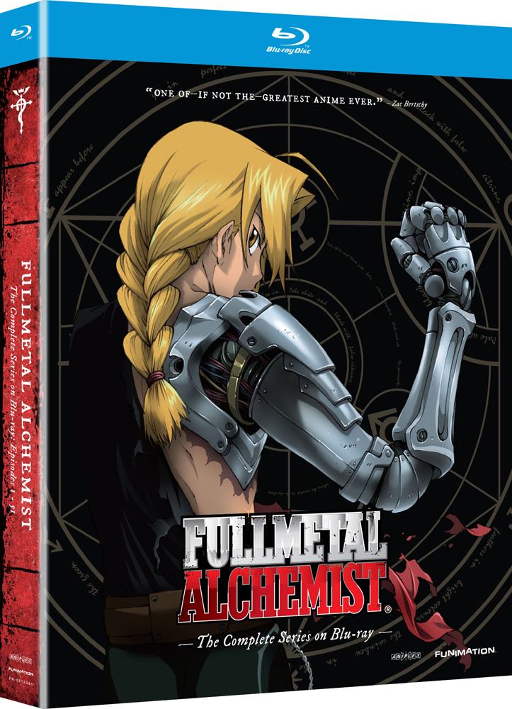 Fullmetal Alchemist Complete Series Blu-ray 704400081248
